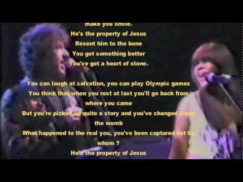 BOB DYLAN-PROPERTY OF JESUS(COVER)