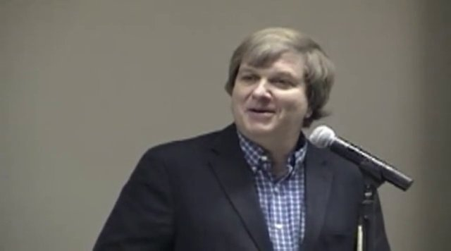 """2014 Writing Colloquium, """"Writing and the Nonviolent Life"""" with Fr. John Dear"""
