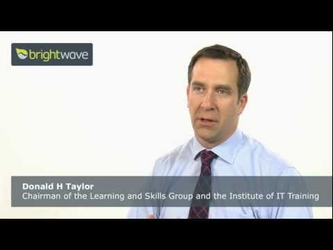 Four things L&D must do to stay relevant (Video interview with Donald H Taylor)