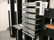 sun servers in open rack