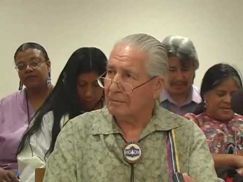 Climate Change  Chief Oren Lyons  Speaks Out