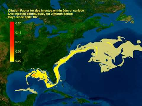 Deepwater Horizon Gulf of Mexico Oil Spill Likely to Spread into the Atlantic OceanDeepwater Horizon Gulf of Mexico Oil Spill Likely to Spread into the Atlantic Ocean