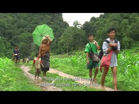 Indigenous Relatives Escaping Burma