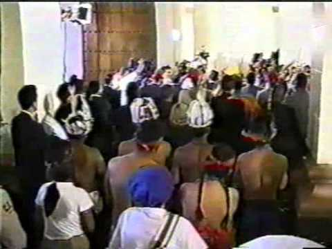 Sacred Prayers, Songs and Offerings at the Tomb of Simon Bolivar with President Hugo Chavez, Part 2 of 3