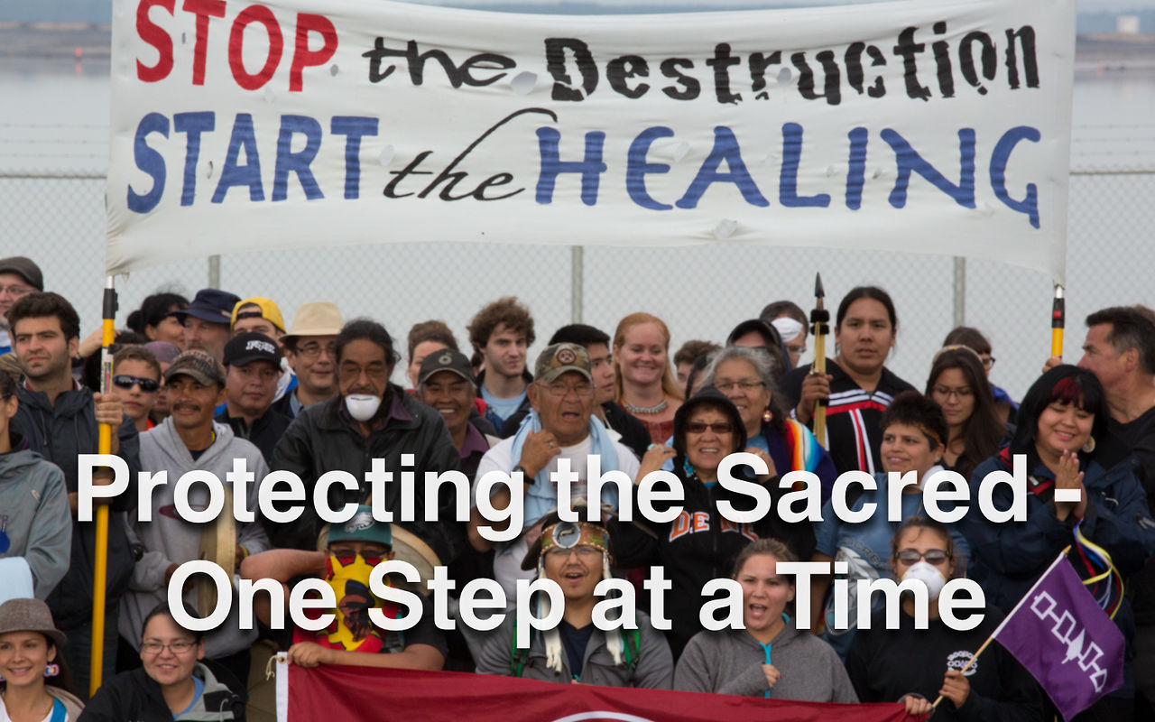 Protecting the Sacred One Step at a Time - Tar Sands Healing Walk 2013