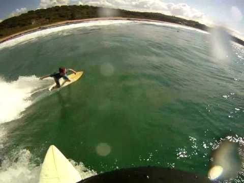Go pro Surfing