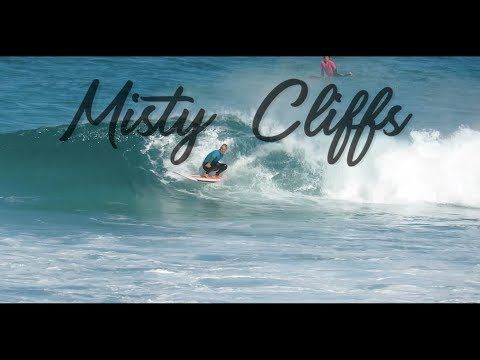Surfing Misty Cliffs WP Longboard South Africa