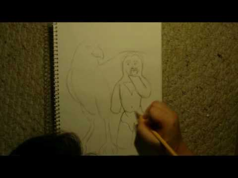 Shahbaz & Chiasquatch: A Timelapse Drawing