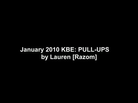 Pull-Up KBE