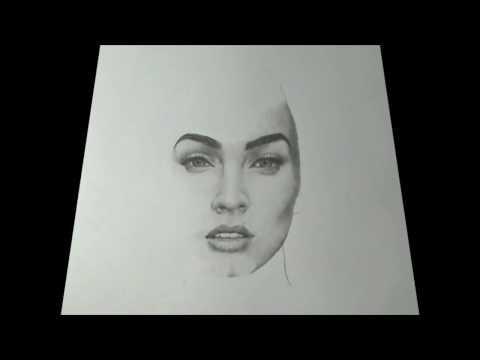 Drawing Megan Fox