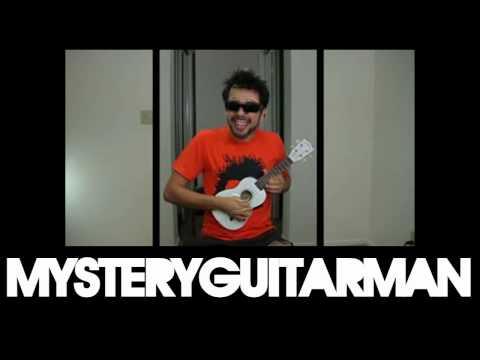 Painting MysteryGuitarMan