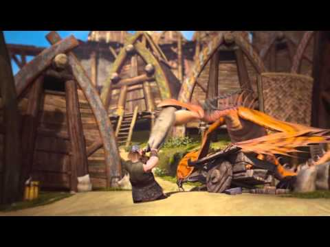 DreamWorks' Dragons: Riders of Berk - The Official Trailer