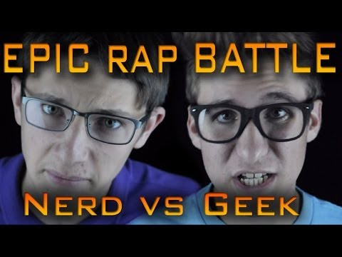 Epic Rap Battle: Nerd vs. Geek cover Winner!