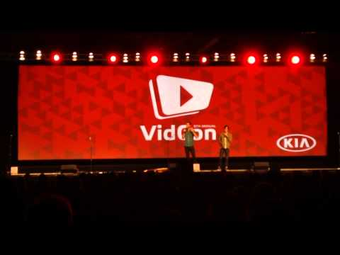 First Comment Song - Live at VidCon 2015