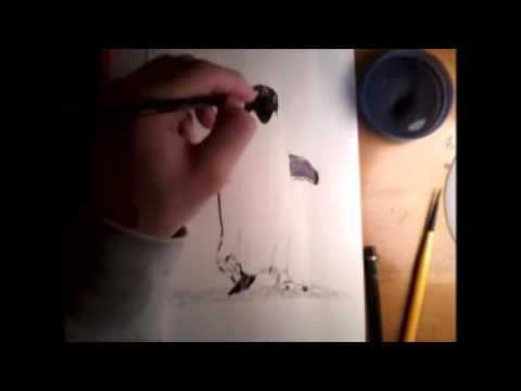 Penguin-Speed Drawing/Painting