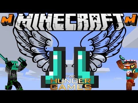 Minecraft Hunger Games: DIAMOND BOOTIES!!!