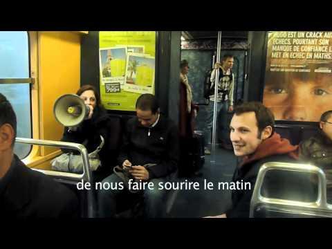 Tout va pour le mieux dans le métro parisien