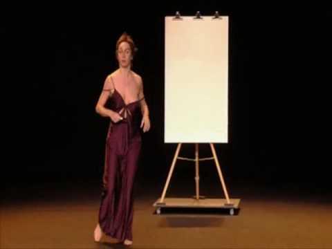 Julie Ferrier- Martha la prof d'arts plastiques