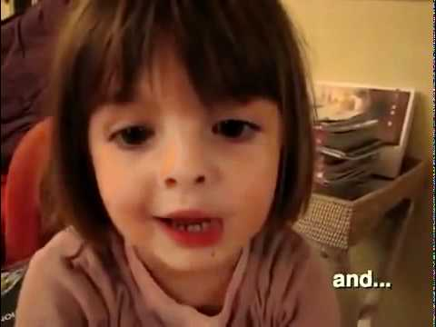 Une petite fille vous raconte son histoire magique...