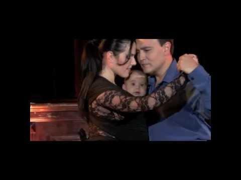 Mi Primer Tango Georgina,Oscar & Nicolas Mandagaran bailan Poema