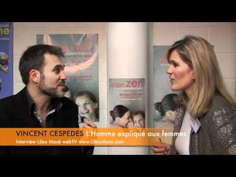 L'homme expliqué aux femmes – Vincent Cespedes interviewé par Lilou Macé