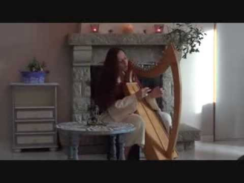 """Song """"We will go Home"""" King Arthur movie/Vocal and celtic harp"""