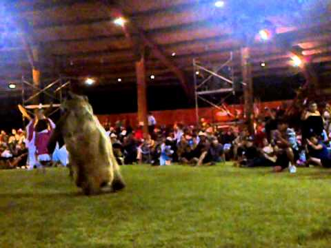 Kamloopa 2012 Womens Traditional Grizzly Bear Dancer