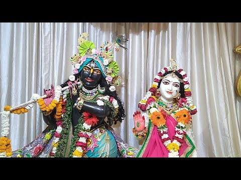 Sringar Darshan || Sri Sri Rukmini Dwarkadhish || ISKCON Amravati || Date 20/March/2019