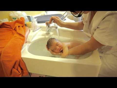 Thalasso bain bébé par Sonia Rochel