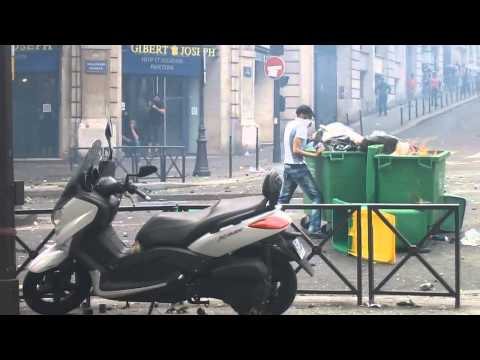 Manif pro-palestinienne interdite: Très grave incidents à Barbès - 19/07/2014