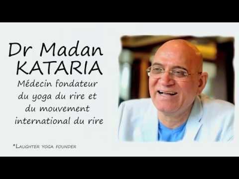 YOGA DU RIRE 2015, CONGRES en France du Dr Kataria et Fabrice Loizeau