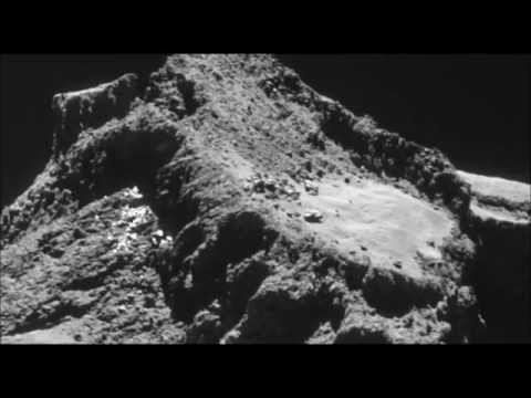 Singing Comet 67P Jaw Dropping Pictures!! 40 Pics + Singing!