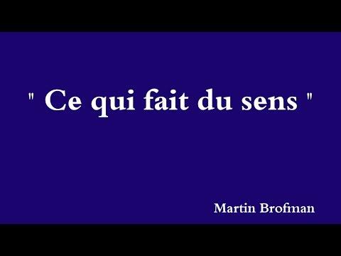 YouTube   Martin Brofman   Ce qui fait du sens - O que faz sentido