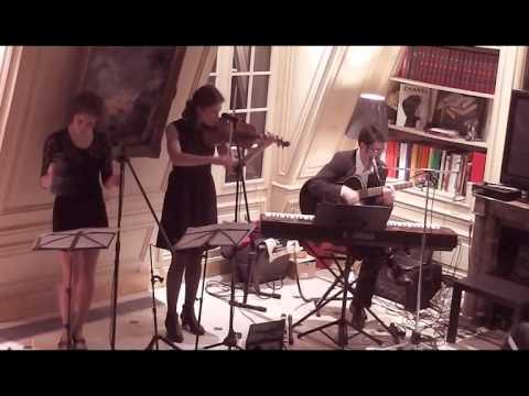 Shanti Om Trio en concert privé