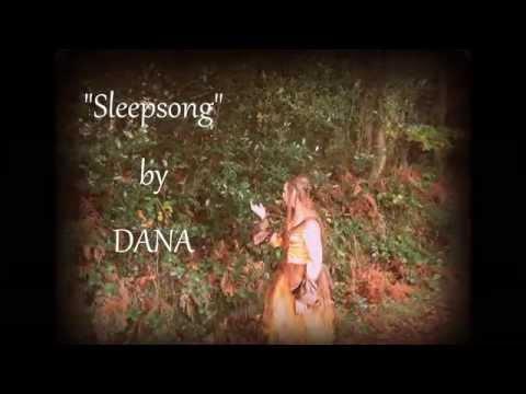 """Sleepsong"", Secret Garden Cover by DANA,celtic harp and voice"