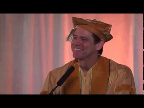 Jim Carrey : Discours très inspirant à la MUM (vostfr)