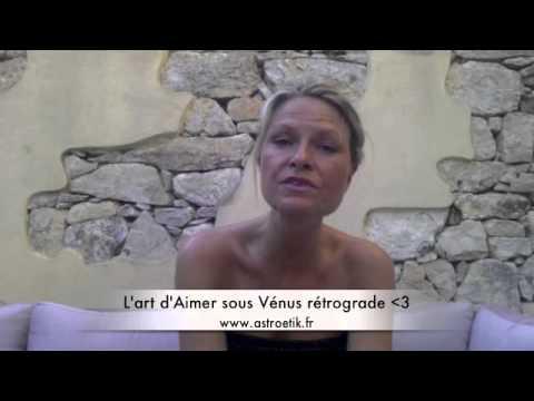 L'Art d'Aimer et de vivre l'amour  ... Sous une belle Vénus rétrograde en Lion