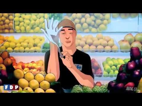Carrefour vend ses clémentines déjà épluchées