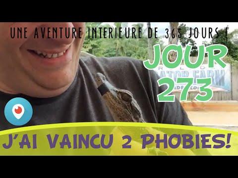 Jour 273 : Aujourd'hui j'ai vaincu deux phobies !