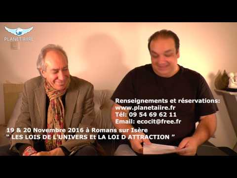 Philippe Bobola - formation Les lois de l'univers et la loi de l'attraction