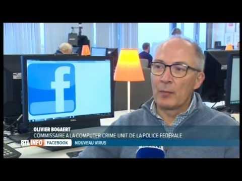 Le virus sur Facebook est un cheval de Troie, selon la police fédérale