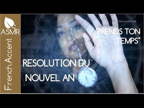 Prends ton temps ASMR hypnose pour mieux dormir *résolution du nouvel an 2017 [asmr français]
