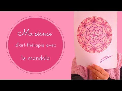 Ma séance d'art-thérapie avec le mandala