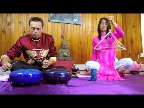 Erik Nicollet & Prisca bain sonore 432Hz