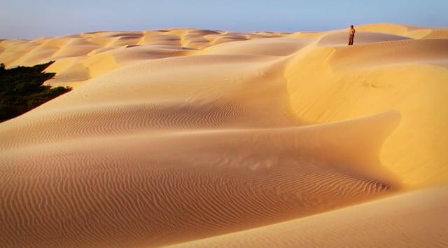 Bresil - Desert des Lençois Maranhenses.