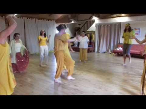 Atelier de Biodanza : danser le Jaune
