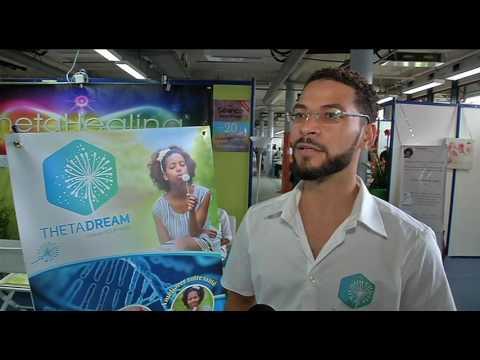 Présentation du Theta healing en france. Interview Canal 10 salon du developpement personnel