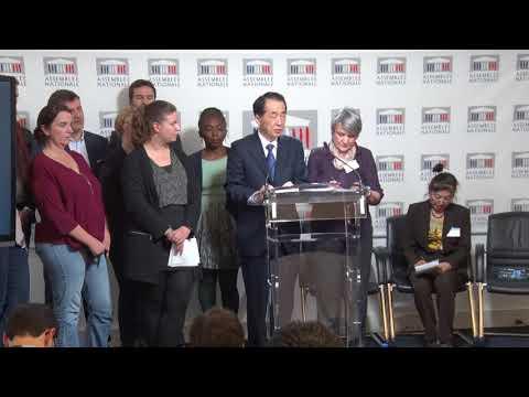 Conférence de presse avec Naoto Kan, ancien Premier ministre japonais