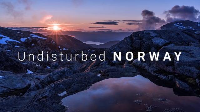 Undisturbed Norway - a timelapse adventure