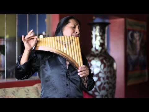 Hallelujah on Panflute | Aleluya by Edgar Muenala | (Official Music Video)